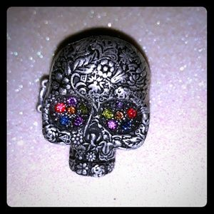 ❗bundle to save❗Stretchy skull ring